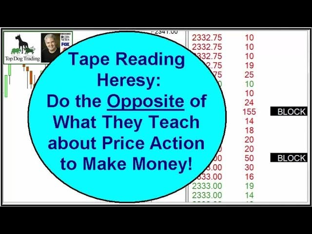 Forex tape reading